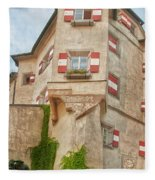 Ottoburg Inn - Old Town Innsbruck Fleece Blanket