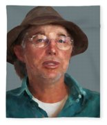 Otto Kilcher Fleece Blanket