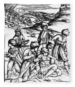Ottoman Surgery, 1573 Fleece Blanket