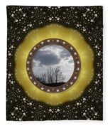 Our Earth Our Mother Pop Art Fleece Blanket