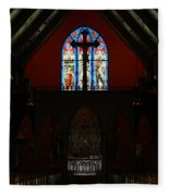 Our Lady Of The Atonement Fleece Blanket