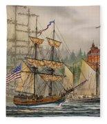 Our Seafaring Heritage Fleece Blanket