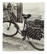 Out For A Ride Fleece Blanket