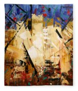 Out Of Darkness Fleece Blanket