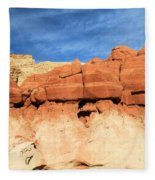 Out Of Place Fleece Blanket