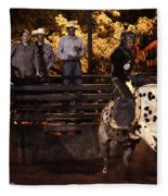 Out Of The Gate Fleece Blanket