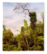 Out Of The Jungle Fleece Blanket