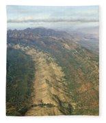 Outback Mountains Fleece Blanket