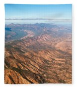 Outback Ranges Fleece Blanket