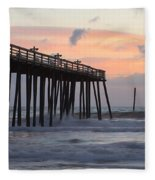 Outer Banks Sunrise Fleece Blanket