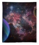 Outer space wonder digital painting painting by georgeta for Outer space fleece