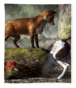 Outfoxed Fleece Blanket