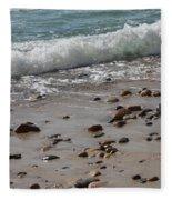 Outgoing Tide Fleece Blanket