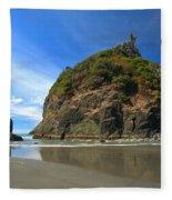 Outgoing Trinidad Tide Fleece Blanket