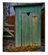 Outhouse - 6 Fleece Blanket