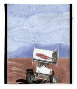 Outlaw Race Car Fleece Blanket