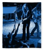 Outlaws #16 Art Blue Fleece Blanket