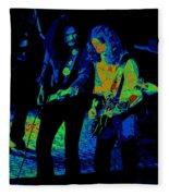 Outlaws #25 Crop 2 Art Psychedelic Fleece Blanket