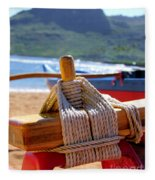 Outrigger Rigging Fleece Blanket