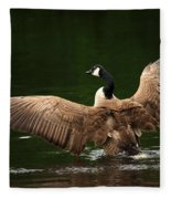 Outstretched Wings Fleece Blanket