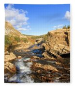 Over The Falls Fleece Blanket