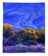 Owens Valley Fall Colors  Fleece Blanket