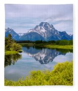 Oxbow Summer Fleece Blanket