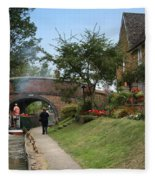 Oxford Canal Fleece Blanket