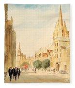 Oxford High Street Fleece Blanket
