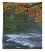 Oxtongue River Provincial Park, Dwight Fleece Blanket