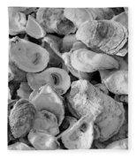 Oyster Shells Fleece Blanket