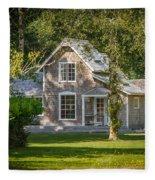 Oysterville House 7 Fleece Blanket