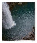 Ozone Falls Fleece Blanket