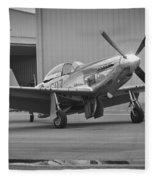 P-51d Spam Can Fleece Blanket