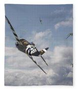 P47- Fw190 - Carousel Fleece Blanket