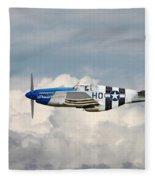 P51 Mustang Gallery - No2 Fleece Blanket