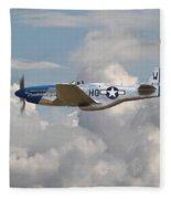 P51 Mustang Gallery - No3 Fleece Blanket