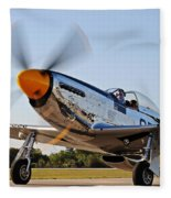 P51 The Brat Fleece Blanket