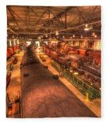 Pa Railroad Museum - 1652 Fleece Blanket