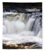 Pa. Waterfalls Fleece Blanket