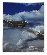 Pacific Battle Fleece Blanket
