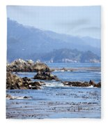 Pacific Blues Fleece Blanket