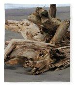 Pacific Driftwood II Fleece Blanket