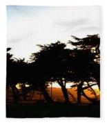 Pacific Grove Golf Links 19902 Fleece Blanket