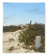 Pacific Pathway Fleece Blanket