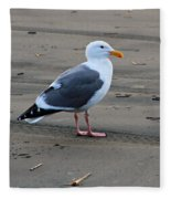 Pacific Seagull Fleece Blanket