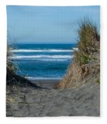Pacific Trail Head Fleece Blanket
