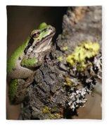Pacific Treefrog Fleece Blanket