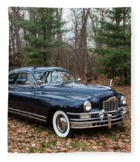 Packard 3 Fleece Blanket