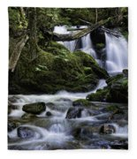Packer Falls And Creek Fleece Blanket